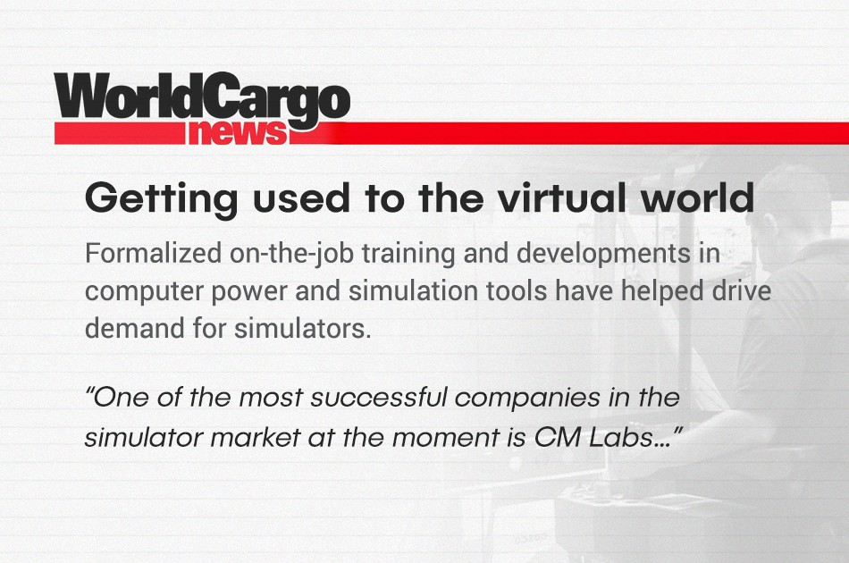 image of Word cargo news quote from magazine